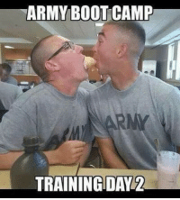 Memes, Army, and 🤖: ARMY BOOT CAMP  TRAININGDAV2 Annnnnndddd the army usarmy usarmysoldier chowhall dfac share usarmyvet usarmyreserve