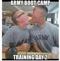training: ARMY BOOTCAMP  TRAINING DAY 2