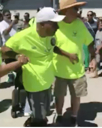 Army veteran Frankie Sanchez Sr. was diagnosed with ALS in 2016. When it came time for his son, Frankie Jr., to graduate from basic training, in a beautiful moment captured by family members, he got up out of his wheelchair to officially tap out his son. - 🙏God I cry when I hear that. ALS aka Lou Gerhig it's a horrid ordeal no one shouldn't go through that I lost certain friends through it and I was originally diagnosed by Army doctors with ALS but later confirmed to be PLS -: Army veteran Frankie Sanchez Sr. was diagnosed with ALS in 2016. When it came time for his son, Frankie Jr., to graduate from basic training, in a beautiful moment captured by family members, he got up out of his wheelchair to officially tap out his son. - 🙏God I cry when I hear that. ALS aka Lou Gerhig it's a horrid ordeal no one shouldn't go through that I lost certain friends through it and I was originally diagnosed by Army doctors with ALS but later confirmed to be PLS -