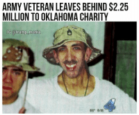 """An Army veteran's gift to charity will now enable 25 Oklahoma families to own their own homes. Sergeant First Class E-7 Stephen Florentz left behind his home and $2.25 million after his death to Central Oklahoma Habitat for Humanity, which said it would use the money from his estate to provide houses to 25 families who need them, WXIN reported. Florentz spent his life giving service to his country. He started out serving in Vietnam as a helicopter medic, became wounded in a battle in Asia, and received a Purple Heart before coming back to the U.S. Florentz also volunteered to serve a year in Operation: Desert Storm in Saudi Arabia and gave his service to veterans in VA hospitals across the country."" trump trumpeffect buildthatwall mikepence conservative republican rnc 2a pewpew america nra trumptrain donaldtrump womenfortrump donttreadonme draintheswamp benghazi bluelivesmatter 2ndamendment altright MakeAmericaGreatAgain patriots gop imwithyou president usa alllivesmatter trumpmemes maga deplorables -Partners - @virginians_4trump @it.aint.obama @conservative.nj @brunetteandpolitical: ARMY VETERAN LEAVES BEHIND $2.25  MILLION TO OKLAHOMA CHARITY  6 @trump manla ""An Army veteran's gift to charity will now enable 25 Oklahoma families to own their own homes. Sergeant First Class E-7 Stephen Florentz left behind his home and $2.25 million after his death to Central Oklahoma Habitat for Humanity, which said it would use the money from his estate to provide houses to 25 families who need them, WXIN reported. Florentz spent his life giving service to his country. He started out serving in Vietnam as a helicopter medic, became wounded in a battle in Asia, and received a Purple Heart before coming back to the U.S. Florentz also volunteered to serve a year in Operation: Desert Storm in Saudi Arabia and gave his service to veterans in VA hospitals across the country."" trump trumpeffect buildthatwall mikepence conservative republican rnc 2a pewpew america nra trumptrain donaldtrump womenfortrump donttreadonme draintheswamp benghazi bluelivesmatter 2ndamendment altright MakeAmericaGreatAgain patriots gop imwithyou president usa alllivesmatter trumpmemes maga deplorables -Partners - @virginians_4trump @it.aint.obama @conservative.nj @brunetteandpolitical"