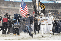 America, God, and Memes: ArmyNavtblame  : ArmyNavyGame  DoD photo byEl Hersom Congratulations Army! There can only be one winner in this game, but you all make us proud. God bless America! 🇺🇸 https://t.co/JnXafLJWmv