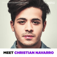 "Memes, 🤖, and Latino: aroj  am/christianleena  MEET CHRISTIAN NAVARRO Tony is unapologetically Latino in ""13 Reasons Why"". @christianleenavarro"