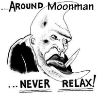 Moonmen: the moonman collective: AROUND  an  NEVER RELAX! Moonmen: the moonman collective