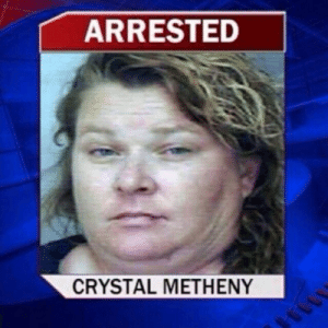 bendamneron:  coolmanfromthepast:  americansylveon:   enlightenedrobot:  bussykween:  sustainablefarming: My drag persona Welcome to the stage ….  So, um, this sounded fake. I googled it and she's a real person. In florida. And, rather amazingly, her arrest was not drug related. No, she shot a freakin missile into a vehicle.   Florida   Florida Man's wife.   Bold of you to assume Crystal Metheny needs a man : ARRESTED  CRYSTAL METHENY bendamneron:  coolmanfromthepast:  americansylveon:   enlightenedrobot:  bussykween:  sustainablefarming: My drag persona Welcome to the stage ….  So, um, this sounded fake. I googled it and she's a real person. In florida. And, rather amazingly, her arrest was not drug related. No, she shot a freakin missile into a vehicle.   Florida   Florida Man's wife.   Bold of you to assume Crystal Metheny needs a man