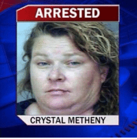 Fake, Florida Man, and Target: ARRESTED  CRYSTAL METHENY coolmanfromthepast: americansylveon:   enlightenedrobot:  bussykween:  sustainablefarming: My drag persona Welcome to the stage ….  So, um, this sounded fake. I googled it and she's a real person. In florida. And, rather amazingly, her arrest was not drug related. No, she shot a freakin missile into a vehicle.   Florida   Florida Man's wife.