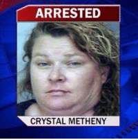 you call her Stephanie I call her: ARRESTED  CRYSTAL METHENY you call her Stephanie I call her