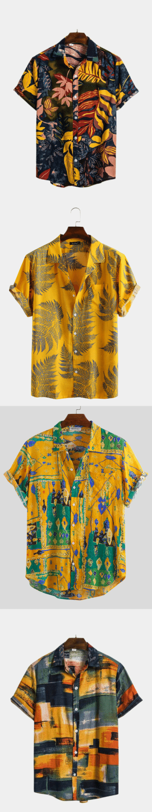 arrinastone: Men's Hawaiian Leaf Printed Chest Pocket Short Sleeve Shirts  Check out HERE : arrinastone: Men's Hawaiian Leaf Printed Chest Pocket Short Sleeve Shirts  Check out HERE