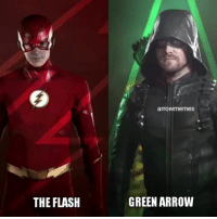 Memes, Arrow, and The Flash: arrowmemes  THE FLASH  GREEN ARROW Well, this will be exciting! Elseworlds: The world where nothing is like it used to be! . theflash barryallen flash StephenAmell greenarrow oliverqueen grantgustin dccomics crossover crossoverevent elseworlds superheroeshow superheroe teamarrow thearrow dccomics cw