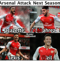 Hit like when you see it 😂: Arsenal Attack Next Season  Ars  Fly  Fly  FIV  nirates  Fb.com/  TrollFoothall  Fly  tn  Lexis  Ozil  211 Hit like when you see it 😂