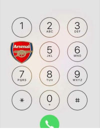 Abc, Arsenal, and Soccer: Arsenal  PORS  ABC  JKL  TUV  DEF  MNO  W XYZ How to call Wenger.