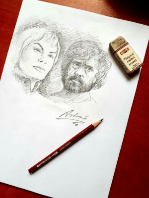 artezopaintings:  Cersei and Tyrion Fanart by Artezo: artezopaintings:  Cersei and Tyrion Fanart by Artezo