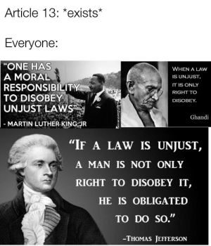 New if a Law Is Unjust Memes | Has Memes, Only Memes, the Law Memes
