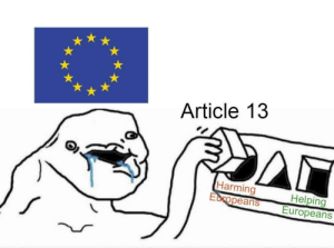 MeIRL, Article, and Harming: Article 13  Harming  Europeans Europeans Meirl