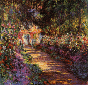 artist-monet:  Pathway in Monet's Garden at Giverny, 1902, Claude Monet: artist-monet:  Pathway in Monet's Garden at Giverny, 1902, Claude Monet