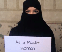 As a Muslim  Woman This is powerful. Watch to the end. Tan