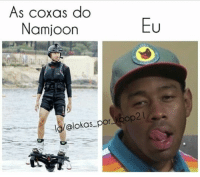 Namjoon, Kpop2, and Por: As coxas do  Namjoon  Eu  Ig/@lokas por  kpop2