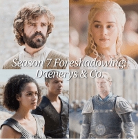 """Lets get started! With only around 13 episodes left, lets have a look at Dany's endgame - and what's already been foreshadowed. It finally happened: Daenerys left Essos and is ready to start her actual quest, which is to """"retake"""" the 7 Kingdoms. Dany will land on Dragonstone - which is already the first foreshadowing moment to become true. (At least if you have a look at Westeros' History and Lore - Aegon did the same thing.) There are many ways on which Daenerys could attack Kings Landing, but remember how Tyrion reacted when he heard her plan on """"returning Slaver's Bay to the dirt"""". This only indicates that an open dragon massacre will definitely not happen right away, like many people think. Remember the parley scene with the wise Masters? Something like that could definitely happen again, therefore we expect Dany to negotiate with Cersei. Though, it could be Varys or Tyrion who are the ones who bring the offer of peace. (We will get into much more detail in our Dany-Cersei predictions.) The next thing that could come true is Dany's marriage to Jon. Yeah.. as annoying as that sounds - think about her scene with Daario. """"Alliances are made through marriages"""". Jon seems the only logical reason, and also the only reasonable ally. Euron is Cersei's ally, the Tullys are gone, Littlefinger might kill Robin Arryn, so who's left? It would also make for great fan service. Will the marriage between aunt and nephew happen? Thats to be seen, but a engagement starts to become likely. Lets finish with possibly the most epic one: The House of the Undying vision. What happened? Dany saw a burned throne room, covered in snow. She realized that the real threat awaits her in the North, and she decided to give up the throne in order to save the realm. The last scene with Drogo is a stretch, but if you take this whole scene, and the way it was shot, I get the feeling that Dany will die in the end and she will be reunited with Khal Drogo and Rhaego, her son. (When the sun rises... pro"""