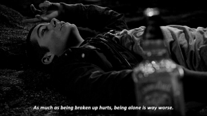 https://iglovequotes.net/: As much as  being broken up hurts, being alone is way worse. https://iglovequotes.net/
