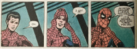 Spider, Weird, and Cold: AS PETER  I GET  YOU COLD  IT S  SPIDER  URNS  YOU ON.  OH. Weird kink but ok