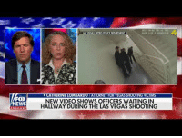 Police, Las Vegas, and Las Vegas: AS VEGAS METRO POLICE DEPARTMENT  FOX  WS  CATHERINE LOMBARDO I ATTORNEY FOR VEGAS SHOOTING VICTIMS  NEW VIDEO SHOWS OFFICERS WAITING IN  HALLWAY DURING THE LAS VEGAS SHOOTING <p>New video shows Las Vegas police officers just standing around while Steven Paddock mowed down concert goers.</p>
