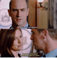 [10x3] I all want for christmas is chris back on svu: asa  What the  hell just happened?  Maybe God remembered  how cute you were as a carrot. [10x3] I all want for christmas is chris back on svu