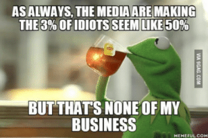 Pokemon, Business, and Islam: ASALWAYS, THE MEDIA ARE MAKING  BUT THATS NONE OF MY  BUSINESS  MEMEFULCO Look how dangerous Pokemon GO is, Climate change is just a theory, Islam is evil (Some issues more important than others)