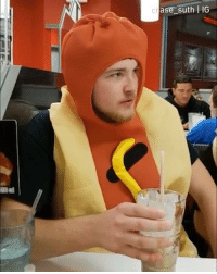9gag, Halloween, and Memes: ase suth LIG This is how the hotdog revolution starts. - Hotdog eater: @martinewhitley Hotdog man: @chase_suth and @ctal81 Camera man: @jonjarrett - hotdog halloween halloweencostume 9gag
