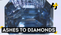 Ash, Memes, and Diamond: ASHES TO DIAMONDS Shine bright like a diamond – even after you're dead. This company turns human remains into sparkly gems.