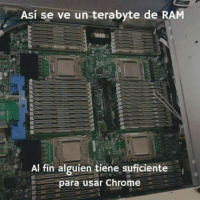 #windows95: Asi se ve un terabyte de RAM  Al fin alguien tiene suficiente  para usar Chrome #windows95