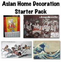 Asian, Lol, and Meme: Asian Home Decoration  Starter Pack  OAsiansNeverDie  12  14 i 15 16 17 18 19 Why all Asian houses always have at least 1 one of these 😂😂 it's like we all shopped at the same store. beenasian beenazn asianpersuasion asianmovement aznmovement asians asian asianparents growingupasian asianproblems asiansneverdie aznneverdie asianguy asiangirl asianbabes asianbabe comedy lol asianmemes memes meme bts bigbang twice btsarmy jaypark kpop pho sriracha