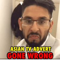 Asian, Friends, and Memes: ASIAN TV ADVERT  GONE WRONG Asian TV advert gone wrong 😭 [tag your friends]