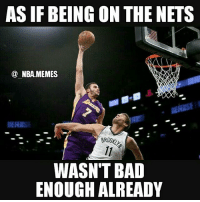 Now he's getting dunked on :- Come on now give my man Brook Lopez a break 😂 he's practically carrying a team of d league players 😕🐐 jk....well kinda 💀 Double tap and tag some friends below! 👍⬇: ASIF BEING ON THE NETS  NBA MEMES  WASN'T BAD  ENOUGH ALREADY Now he's getting dunked on :- Come on now give my man Brook Lopez a break 😂 he's practically carrying a team of d league players 😕🐐 jk....well kinda 💀 Double tap and tag some friends below! 👍⬇