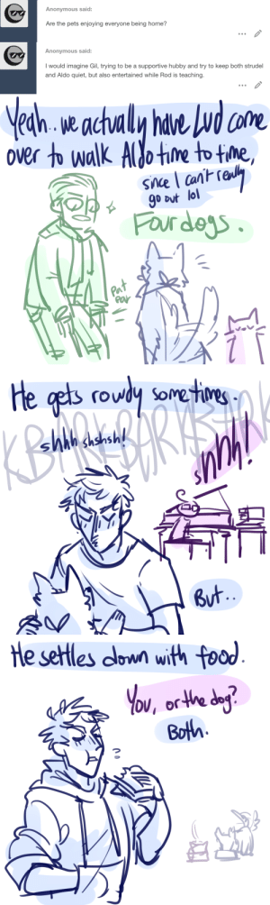 ask-art-student-prussia:  Aldo is a big rowdy dog: ask-art-student-prussia:  Aldo is a big rowdy dog