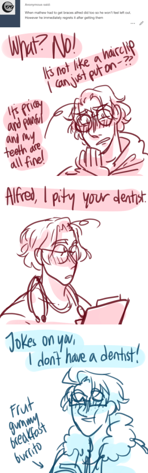 ask-art-student-prussia:  Matthew's a nurse, for those who are new lsaldkjakasjdlkas: ask-art-student-prussia:  Matthew's a nurse, for those who are new lsaldkjakasjdlkas