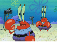ask-eugene-h-krabs: This here is me homunculus flesh puppet that me soul will transfer to in  the event of me death. It's got no soul insider it right now, so we  keep it in a constant state a euphoria ter keep it from massacrin' me  customers.  what: ask-eugene-h-krabs: This here is me homunculus flesh puppet that me soul will transfer to in  the event of me death. It's got no soul insider it right now, so we  keep it in a constant state a euphoria ter keep it from massacrin' me  customers.  what