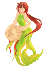 Sorry, Target, and Tumblr: ask-lotus-vietnam:  ((Have a mermaid!Vietnam for Mermay before the month ends! Sorry for the brief hiatus, everyone, mun's just been overwhelmed recently))