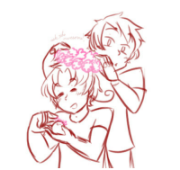 Love, Target, and Tumblr: ask-the-awesome:  ((Give that boy some flowers. Boys love flowers.))