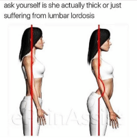 Gym, Memorial Day, and Suffering: ask yourself is she actually thick or just  suffering from lumbar lordosis Is she!? . @DOYOUEVEN 👈🏼 25% OFF MEMORIAL DAY SALE 🇺🇸 USE CODE 'MD25'