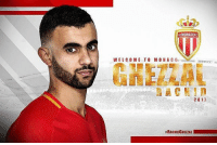 Memes, Free, and Monaco: ASMONACOO  WELCOME TO MONA C  GHEZZAU  2017  #RACHIDGHEZZAL 1111 Monaco have confirmed the signing of Rachid Ghezzal on a free transfer. - The former Lyon winger has agreed a deal until 2021. - transferrumour transfernews transfertalk transfers transfer