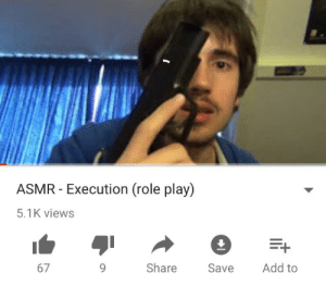 Asmr, Add, and Play: ASMR-Execution (role play)  5.1K views  67  Share Save Add to
