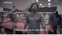 Dank, Heavyweights, and 🤖: ASPORTbible  HAYE  Well I'm glad to say the next victim is... BREAKING: David Haye to fight Tony Bellew at heavyweight on March 4th.