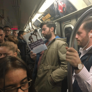 Ass, Ass Eating, and Subway: Ass Eating  Made Simple just some casual NYC Subway reading..