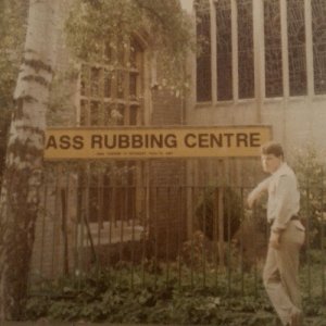 Ass, Dad, and England: ASS RUBBING CENTRE fuklet:  I looked through four photo albums just to find this picture of my dad from the eighties when he was living in england. It was worth it.