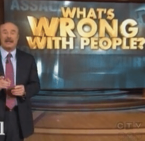 : ASSACWHAT'S  WRONG  WITH PEOPLE?  2UR  CTV