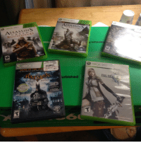 "Gamestop, Love, and Tumblr: ASSASSIN  CREED III  ASSASSINS  BROTHERHOOD  GAME OF THE YEA  urbished  BEST SEL  4 EXTRA <p><a href=""http://un-censor.tumblr.com/post/116359726642/proudblackconservative-professional-derp"" class=""tumblr_blog"">un-censor</a>:</p>  <blockquote><p><a href=""http://proudblackconservative.tumblr.com/post/116359405914/professional-derp-proudblackconservative-got"" class=""tumblr_blog"">proudblackconservative</a>:</p>  <blockquote><p><a href=""http://professional-derp.tumblr.com/post/116357875172/proudblackconservative-got-me-a-little-tax"" class=""tumblr_blog"">professional-derp</a>:</p>  <blockquote><p><a href=""http://proudblackconservative.tumblr.com/post/116357718254/got-me-a-little-tax-return-gift"" class=""tumblr_blog"">proudblackconservative</a>:</p>  <blockquote><p>Got me a little tax return gift</p></blockquote>  <p>You're gonna love brotherhood. It was the best in the series (IMHO) up until Black Flag came out, and even then, BF is only slightly more fun!</p></blockquote>  <p>I'm already loving it! Haven't tried out III yet. I've heard mixed reviews…</p></blockquote>  <p>What's the third one?</p></blockquote>  <p>Dragon&rsquo;s Dogma. I&rsquo;ve never heard of it but the guy at gamestop suggested it when I told him what I liked.</p>"