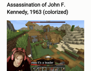 Made with Samsung notes: Assassination of John F.  Kennedy, 1963 (colorized)  raid  lt's a leader Made with Samsung notes