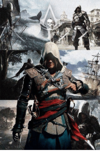 Tumblr, Black, and Creed: Assassins Creed Black FlagEdward Kenway LOVER = LIKE