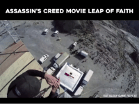 ASSASSIN'S CREED MOVIE LEAP OF FAITH  EAT SLEEP GAME REPEAT --JOIN US-- Alive GameZone