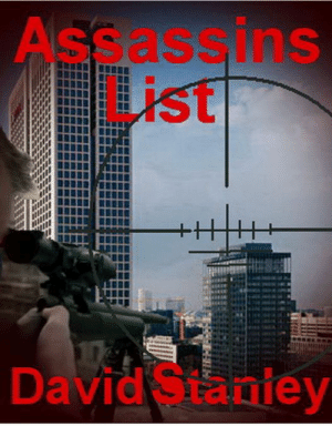 meme-mage:    Assassins List - Kindle EditionAssassins List is an enthralling Espionage and Assassination plot  cleverly picturing in the rendition, Assassins List is based on a true  story delivering a masterful infuse of fact and fiction.    Author David Stanley has had steady success with two short story's  and now Assassins List his first full book is set to take readers by  storm. A former victim to an I.E.D. He pledges 10 percent of his books  income to aid the injured Marines.: Assassins  List  David Staniey meme-mage:    Assassins List - Kindle EditionAssassins List is an enthralling Espionage and Assassination plot  cleverly picturing in the rendition, Assassins List is based on a true  story delivering a masterful infuse of fact and fiction.    Author David Stanley has had steady success with two short story's  and now Assassins List his first full book is set to take readers by  storm. A former victim to an I.E.D. He pledges 10 percent of his books  income to aid the injured Marines.
