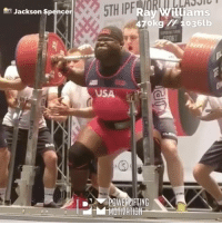 raywilliams repping 470-1036 😳 📺 @jackson_spencer @optimusprime_334 @powerliftingmotivation @powerliftingofficial @liftunlimited @baregrip @king_of_the_lifts powerliftingmotivation: ASSIC  Ray Williams  47okg 10361b  Jackson Spencer  USA  0  ID  DI▼POWERCIFTING  MOTIVATION- raywilliams repping 470-1036 😳 📺 @jackson_spencer @optimusprime_334 @powerliftingmotivation @powerliftingofficial @liftunlimited @baregrip @king_of_the_lifts powerliftingmotivation